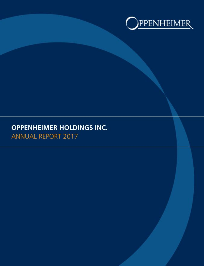 Oppenheimer Annual Report 2017